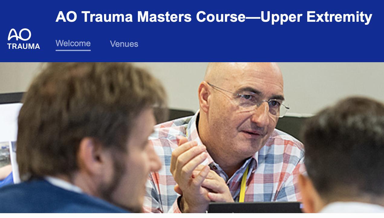 AO Trauma Masters Course—Upper Extremity